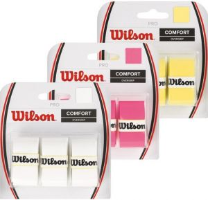 Намотка Wilson pro overgrip white 3pack