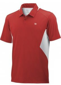Поло дет. Wilson Great Get Polo red/white