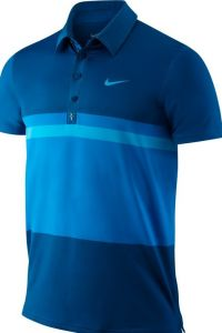 Поло мужское NIKE RF Smash Stripe Polo 446905-323