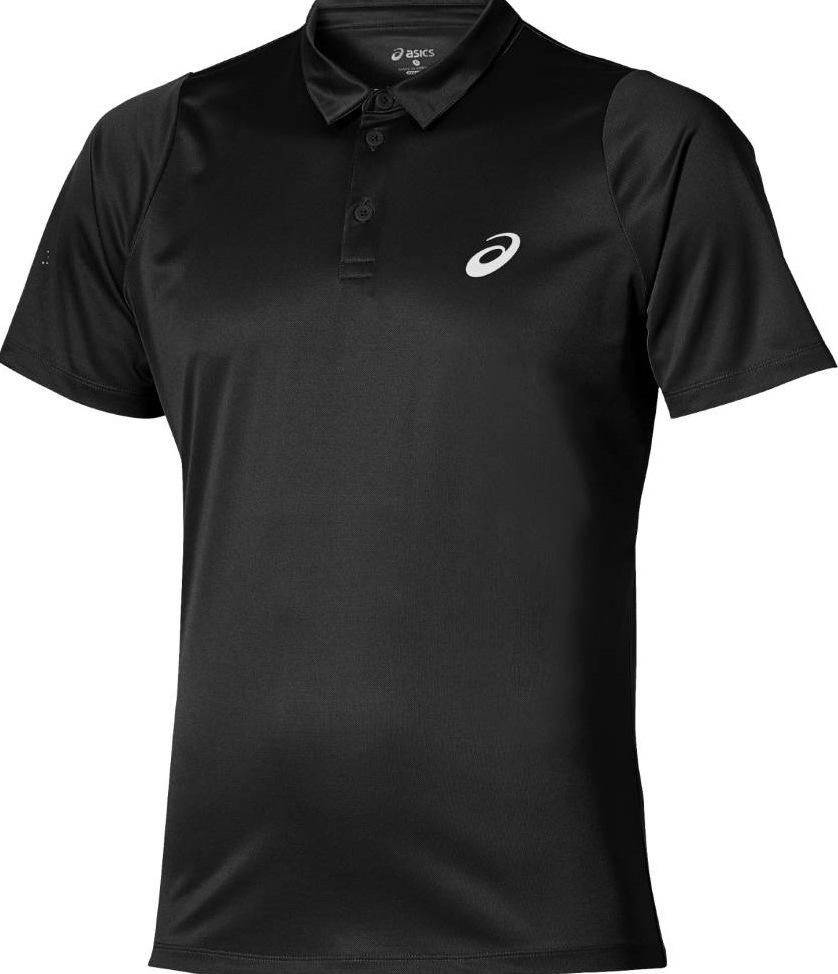 Поло муж. Asics Club SS polo black