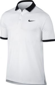 Поло муж. Nike ADV polo solid pq white/black