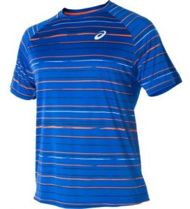 Футболка муж. Asics Club graphic sleeve tee blue
