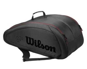 Чехол Wilson Fed team 12 black/red
