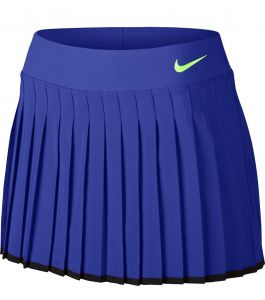 Юбка жен. Nike NKCT Victory skirt blue/black