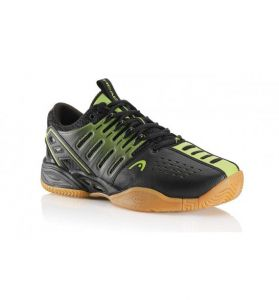 Кроссовки Head Radical pro II lite indoor black/lime