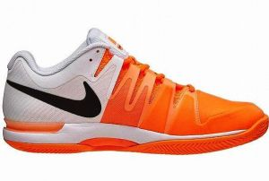 Кроссовки муж. Nike Zoom Vapor 9.5 tour clay white/orange