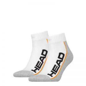 Носки Head PERFORMANCE QUARTER 2P UNISEX white-grey