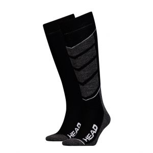 Носки горнолыжные Head UNISEX SKI V-SHAPE KNEEHIGH 2P black-white