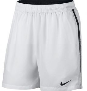 Шорты муж. Nike NKCT dry short 7in white/black