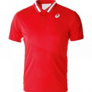 Поло муж. Asics Club polo shirt red