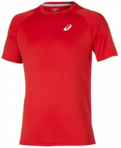 Футболка дет. Asics Club short sleeve tee red