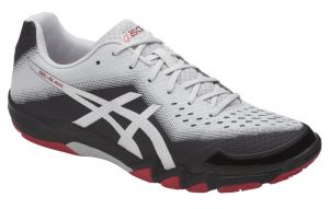 Кроссовки муж. Asics Gel-Blade 6 white/black/red