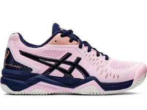 Кроссовки жен. Asics Gel-Challenger 12 clay light-pink/navy