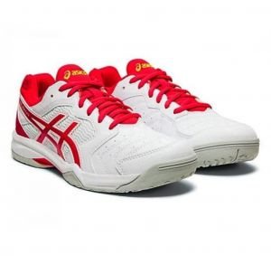 Кроссовки жен. Asics Gel-Dedicate 6 white/red
