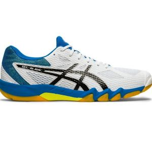 Кроссовки муж. Asics Gel-blade 7 white/blue/yellow