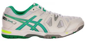 Кроссовки Asics Gel-game 5 white/green