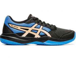 Кроссовки дет. Asics Gel-game 7 clay /oc GS black/blue