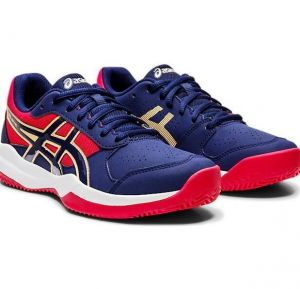 Кроссовки дет. Asics Gel-game 7 clay /oc GS navy/red