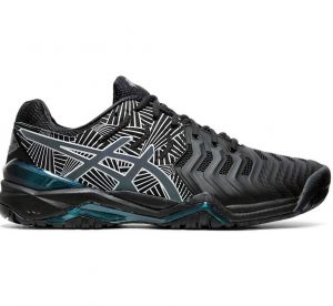Кроссовки муж. Asics Gel-resolution 7 LE black