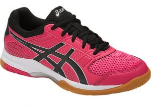 Кроссовки жен. Asics Gel-rocket 8 pink/black