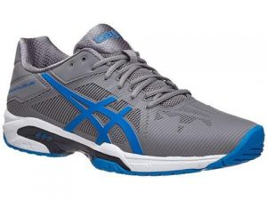 Кроссовки муж. Asics Gel-solution speed 3 grey/blue