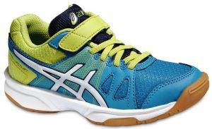 Кроссовки Asics Pre-upcourt PS blue/white/lime