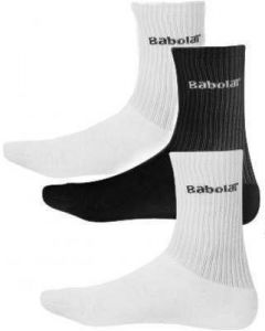 Носки Babolat 3 pairs pack socks junior white/black