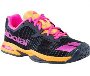 Кроссовки Babolat Jet all court black/pink/orange