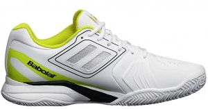 Кроссовки муж. Babolat Propulse Team BPM clay white/yellow