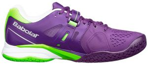 Кроссовки Babolat Propulse all court Wimbledon purple/violet/lila