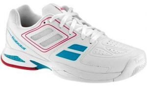 Кроссовки Babolat Propulse team BPM all court white/pink