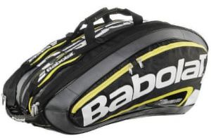 Чехол Babolat RH X 12 team line black/yellow 2015 year