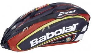 Чехол Babolat Racket Holder X 6 Team line RG/FO clay