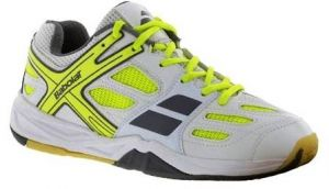 Кроссовки Babolat Shadow club junior white