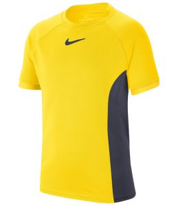 Футболка дет. Nike boy Dry SS top yellow/grey