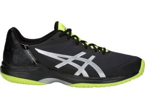 Кроссовки муж. Asics Gel-court speed black/flash yellow