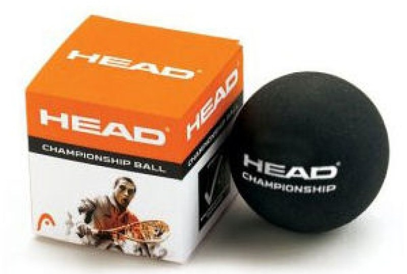 Мячи для сквоша Head Championship Squash Ball (SYD) Black