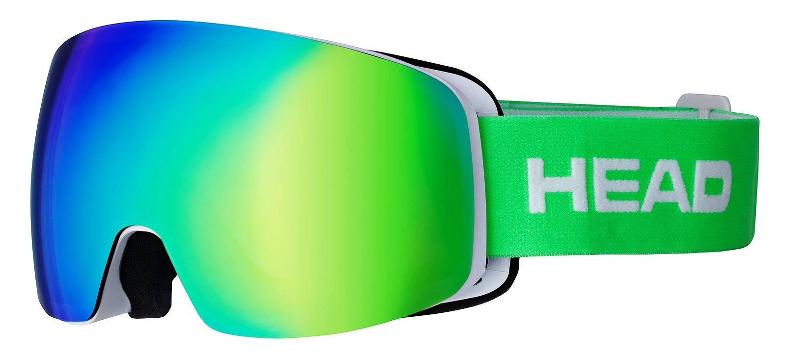 Head GALACTIC FMR green + SpareLens