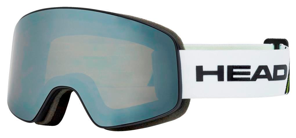 Маска Head HORIZON RACE white/lime + SpareLens