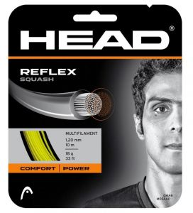 Струны для сквоша Head Reflex squash (set) 18 YW
