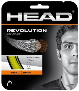 Струны для сквоша Head Revolution squash (set) 17 YW