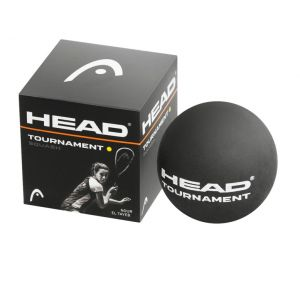 Мячи для сквоша Head Tournament Squash Ball Bk