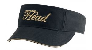 Козырек жен. Head women's visor black