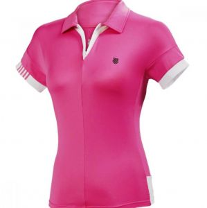 Поло жен. K-Swiss Buy 66 short sleeve polo pink