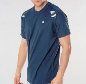 Футболка муж. K-Swiss Men Performance crew dress blue