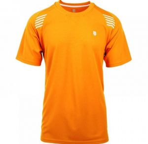 Футболка муж. K-Swiss Men Performance crew orange