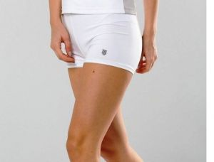 Шортики жен. K-Swiss Womens 66 Drawstring short white