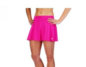 Юбка жен. K-Swiss Womens Adcourt skirt berry