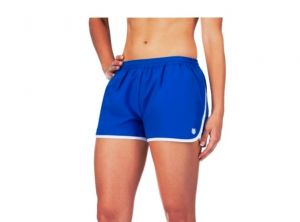 Шорты жен. K-Swiss Womens Alley short blue/white
