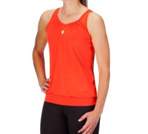 Майка жен. K-Swiss Womens Buy sideline tank top orange